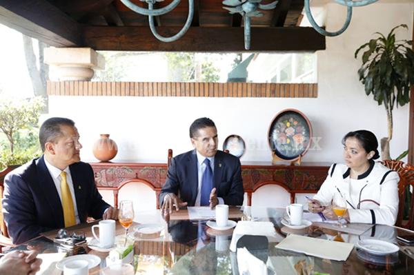 Fortalece Gobernador trabajo conjunto con el Poder Judicial