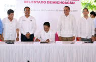 Promulga Gobernador Ley de Zonas Económicas Especiales de Michoacán