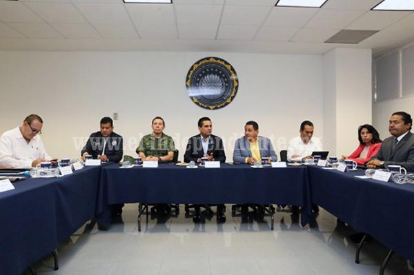 Trabajamos en fortalecer la seguridad de los uruapenses: Silvano Aureoles