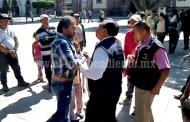 Preocupa actitud agresiva e intolerante del alcalde de Zamora