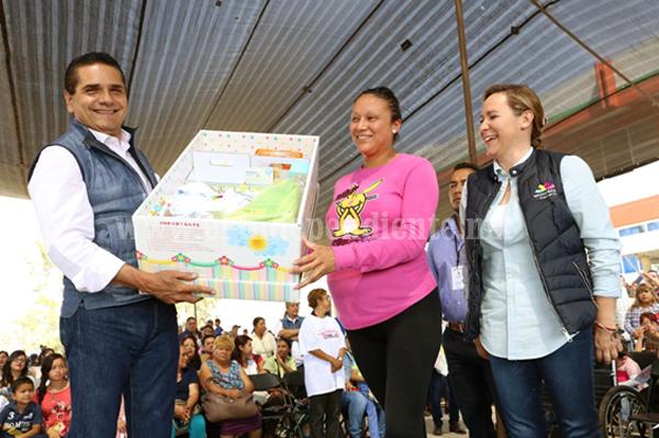 En Michoacán, Gobierno sensible a necesidades de los más desprotegidos: Silvano Aureoles