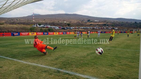 Real Zamora por fin ganó, derrotó tres a cero a Cachorros de la  U de G