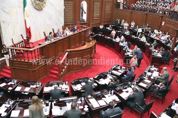 Gobierno de Michoacán reconoce madurez política del Congreso local en aprobación de reestructura de deuda