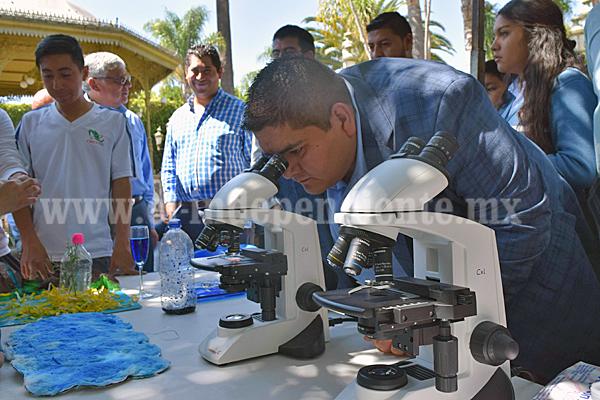 Tangancícuaro celebró el Día Mundial del Agua