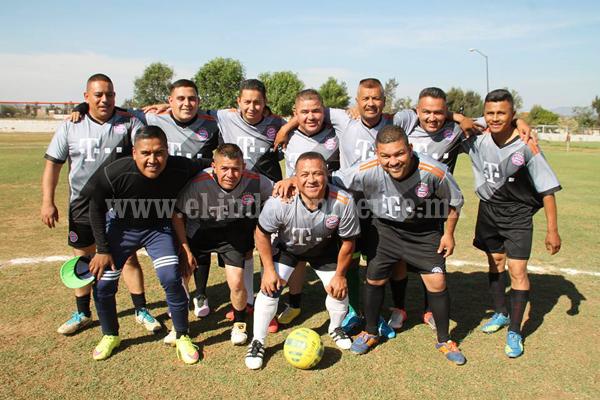 Grandes  encuentros en Torneo de futbol interno del ayuntamiento de Zamora