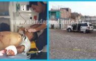 Entre la vida y la muerte tras recibir 12 balazos en Jacona