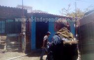Ancianita pierde su casa durante incendio en Zamora