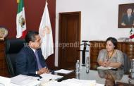 Se solidariza Gobernador con la migrante deportada Maribel Trujillo