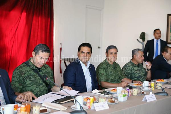 Continúa despliegue operativo en regiones de Michoacán