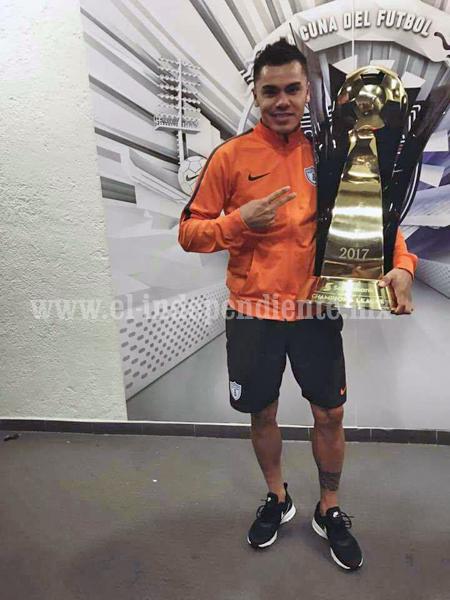 """Emmanuel """"Manny"""" García, zamorano triunfador  agradecido por apoyo de familia y amigos en este campeonato"""