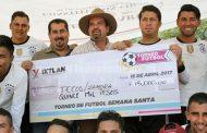 Tecos de Zamora se llevó el Torneo de Futbol de Semana Santa