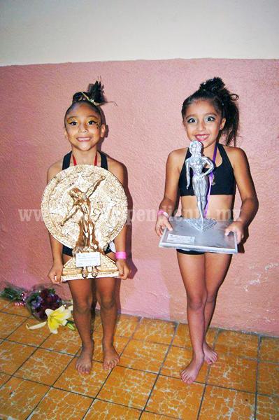 Niñas zamoranas solicitan apoyo para participar en campeonato mundial de Fitness