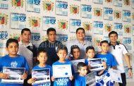 Niños de Tangancícuaro destacaron en campamento que organizó FC Porto