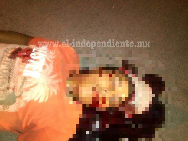 Joven es ultimado a tiros en las calles de Sahuayo