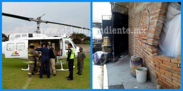 Explosión por acumulación de gas en una vivienda deja seis heridos