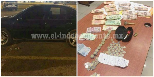 Detiene Policía Michoacán a 4 con crystal en Zamora