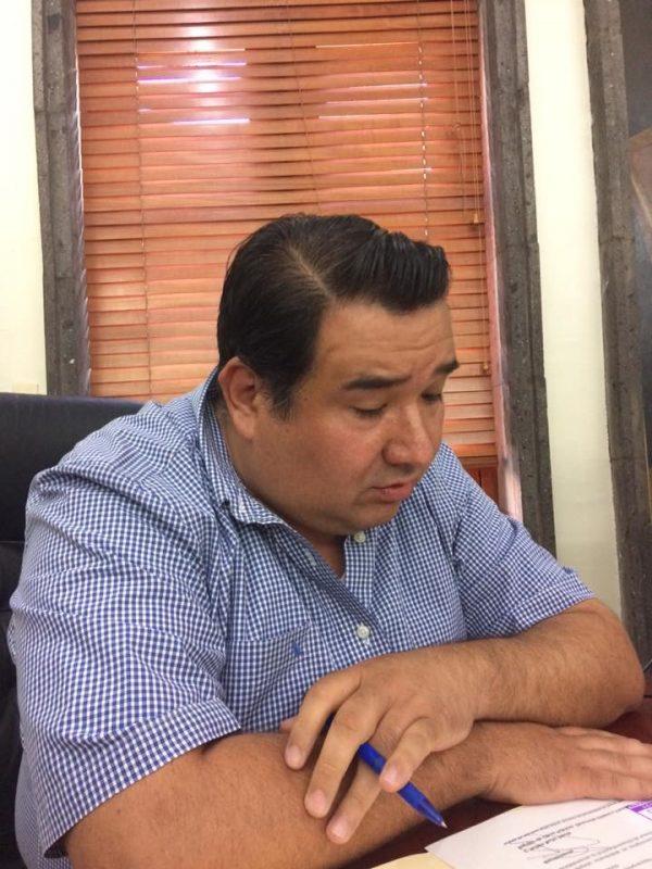 Rubén Nuño se separa temporalmente como Regidor de Vialidad
