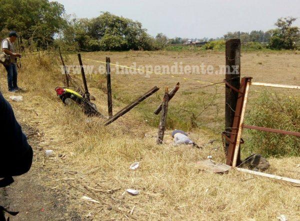 Jovencita muere en accidente de moto