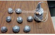 Asegura Policía Michoacán a tres con artefactos explosivos en Zamora