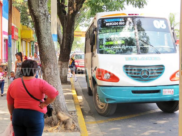 Transportistas presentarán informe sobre irregularidades de servicio