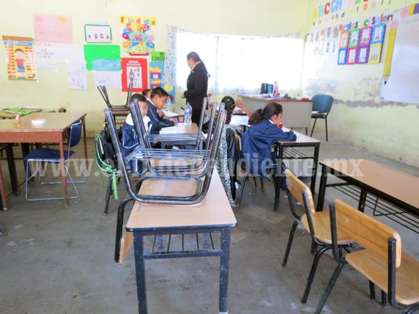 Casi 7 mdp invertirán en infraestructura educativa en Jacona