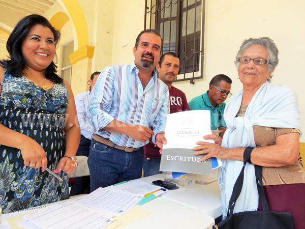 En Ixtlán garantizan certeza jurídica a casi 20 familias