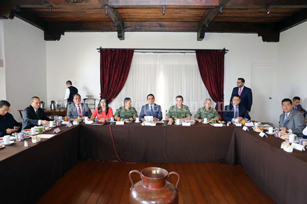 Revisa GCM creación de la fiscalía especializada en la atención a delitos contra periodistas