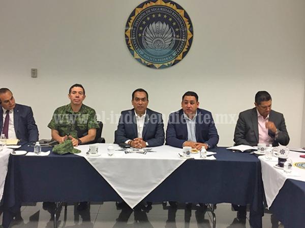 Evalúa GCM resultados de acciones en seguridad para Uruapan
