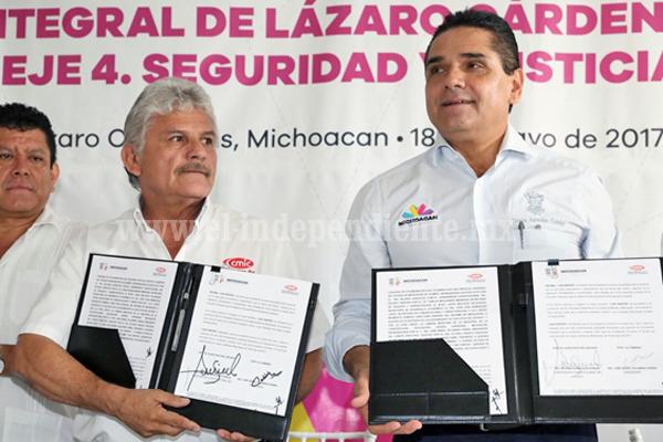 Fortalecerán Gobierno del Estado y CMIC inversiones en Puerto de LC