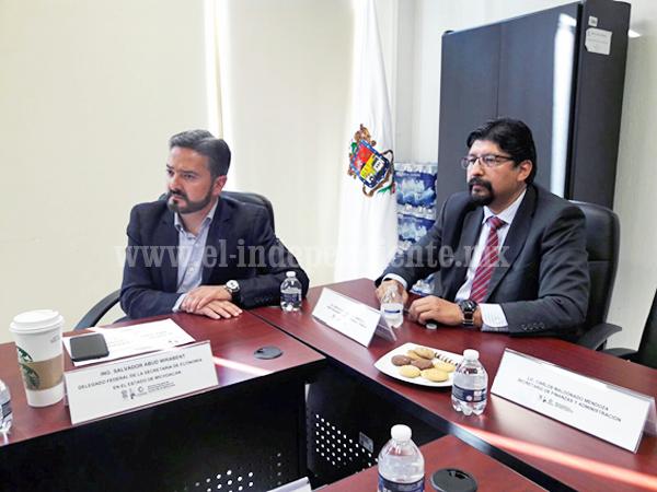CCERZA invita a empresarios y alcaldes para aprovechar financiamiento federal