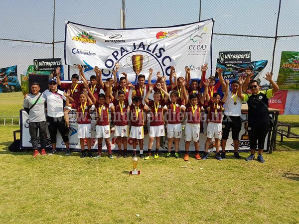 Club deportivo el Carmen de Zamora ganó la sexta Copa Jalisco Soccer 2017