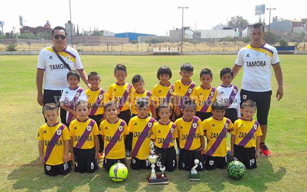 Zamora ganó el Subcampeonato del Torneo sub-6 de futbol en Morelia
