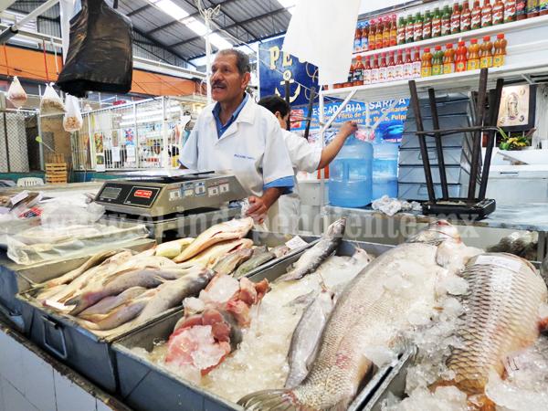 Caen las ventas en sector de mariscos y pescado