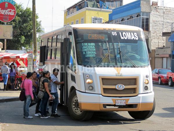 Siguen deficiencias en operatividad de transporte público
