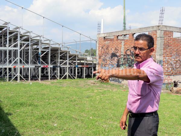Terminan adecuación de cancha en Unidad Deportiva Poniente