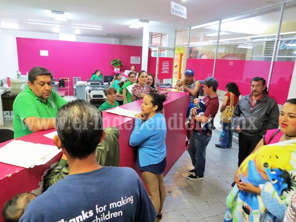 Esperan triplicar servicios en Registro Civil por inscripciones escolares