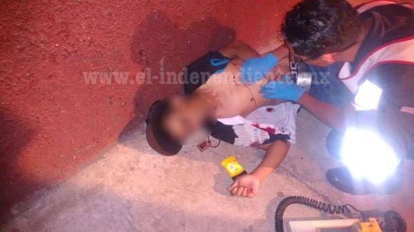 Muchacho muere baleado en El Porvenir de Zamora
