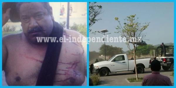 """Detienen a """"El Cenizo"""" tras una balacera en el poblado calentano 1 de Septiembre"""