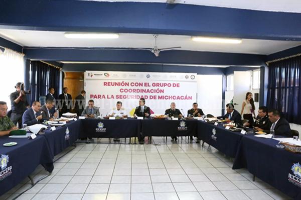 Michoacán fortalece sus instituciones para garantizar desarrollo y gobernabilidad