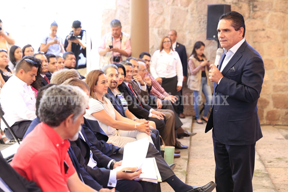 Michoacán será un estado impulsor del sector turístico, afirma Gobernador