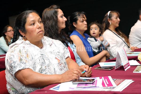 Reconoce Federación a Michoacán por aportación al banco de datos sobre violencia contra mujeres