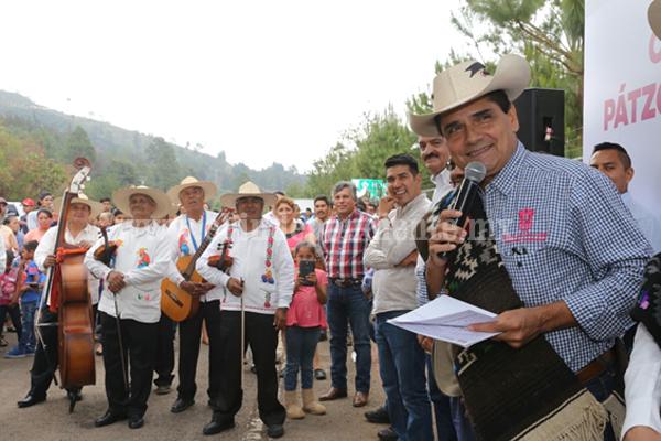Convoca Gobernador a consolidar franja de protección al Lago de Zirahuén