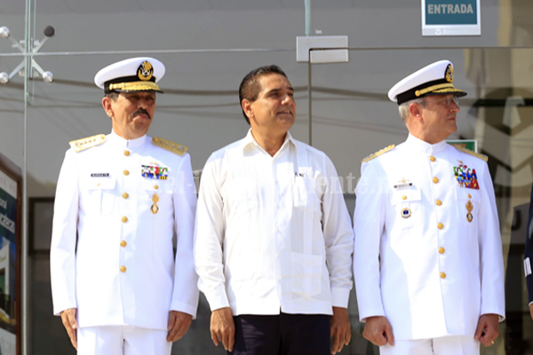 Inauguran Gobernador, Semar, Sedena y SHCP nueva sucursal de Banjército en LC