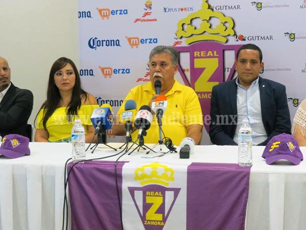 Promotora Deportiva Valladolid se incorpora a proyecto del Real Zamora