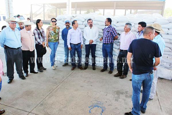 Buscan poner a funcionar planta granuladora de fertilizante