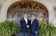 Silvano Aureoles y Rafael Moreno Valle, por la consolidación del FAD