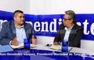 Tangancícuaro crece gracias a la buena gestión y excelente recaudación