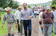 Ángel Macías supervisó condiciones para empezar obras de dren pluvial en Lindavista