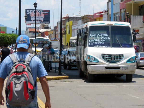 Sector de transporte público en la peor crisis de los últimos años
