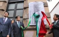 Encabeza Gobernador recorrido en Bando Solemne por Fiestas Patrias en Morelia